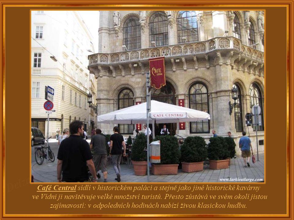 Rakousko – Vídeň Café Central