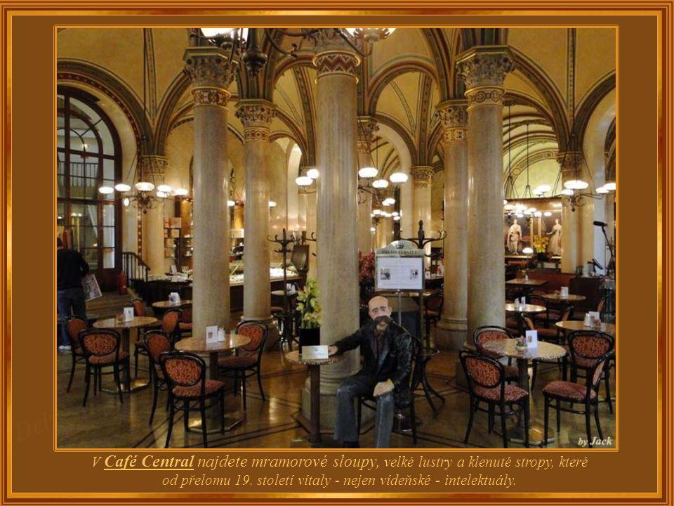 Café Central sídlí v historickém paláci a stejně jako jiné historické kavárny ve Vídni ji navštěvuje velké množství turistů. Přesto zůstává ve svém ok
