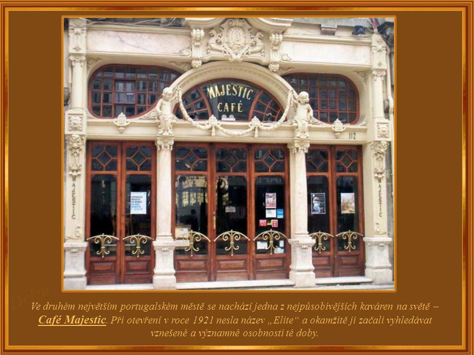 Portugalsko – Porto Café Majestic