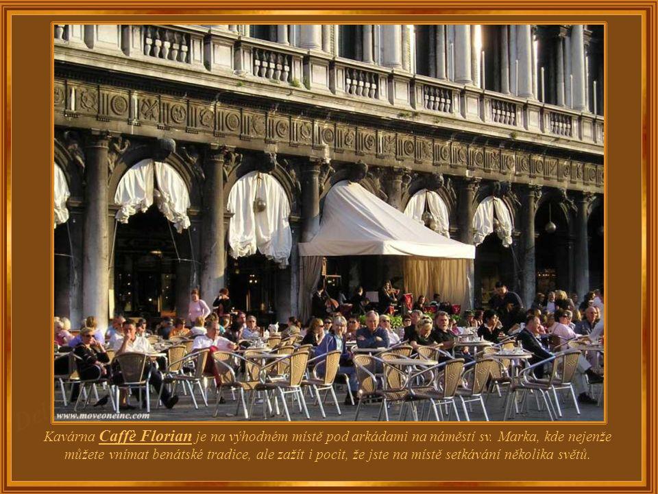 Itálie – Benátky Café Florian