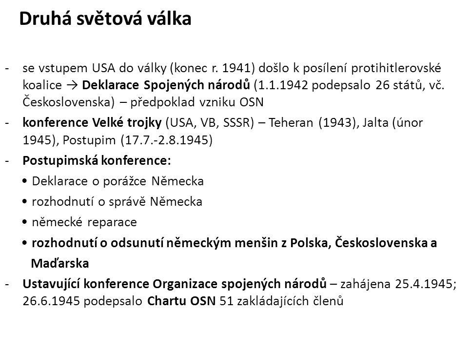 Současná kolektivní diplomacie -pravidelná zasedání Valného shromáždění OSN -NATO -Evropská unie -Rada Evropy -Konference o bezpečnosti a spolupráci v Evropě (KBSE, později OBSE) – Helsinky 1975, následné schůzky (Bělehrad, Madrid, Vídeň, Paříž, …, Budapešť) -enviromentální summity Význam summitů: vývoj principů mezinárodních vztahů a mechanismů při řešení jejich problémů