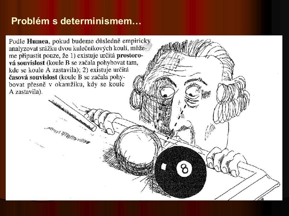 Problém s determinismem…