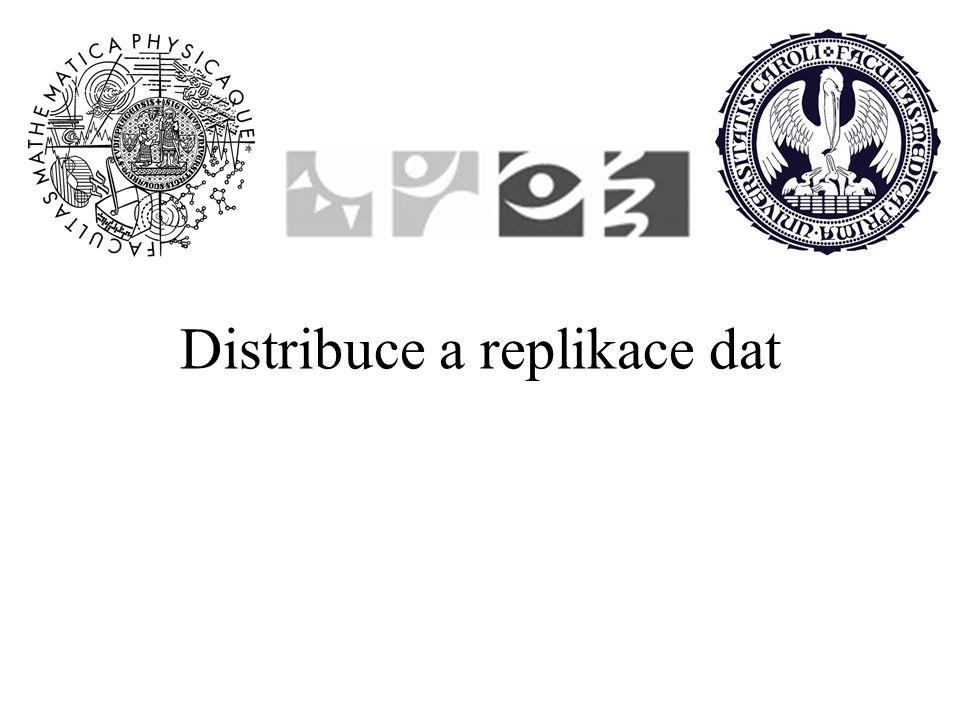 Distribuce a replikace dat