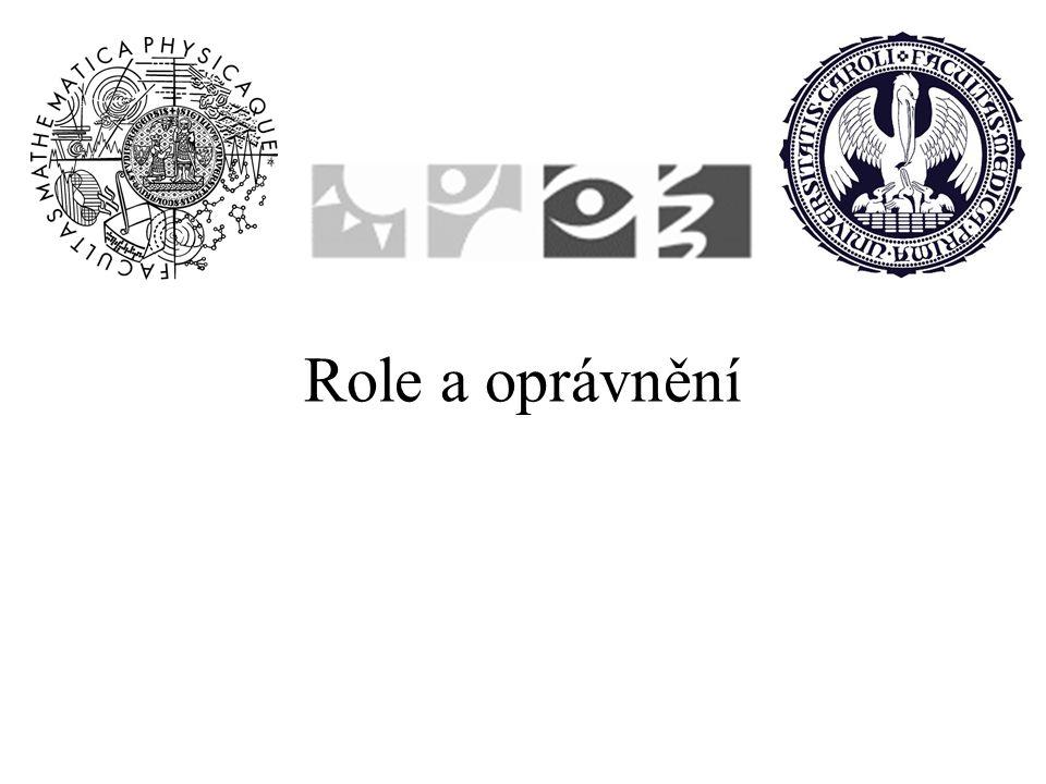 Role a oprávnění