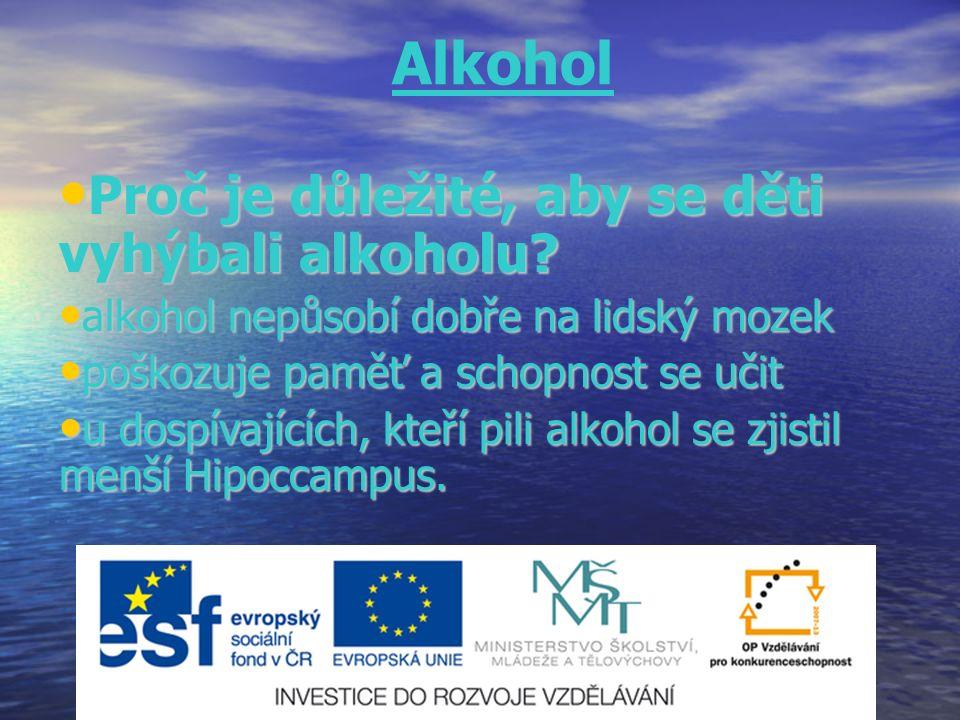 Proč je důležité, aby se děti vyhýbali alkoholu.Proč je důležité, aby se děti vyhýbali alkoholu.
