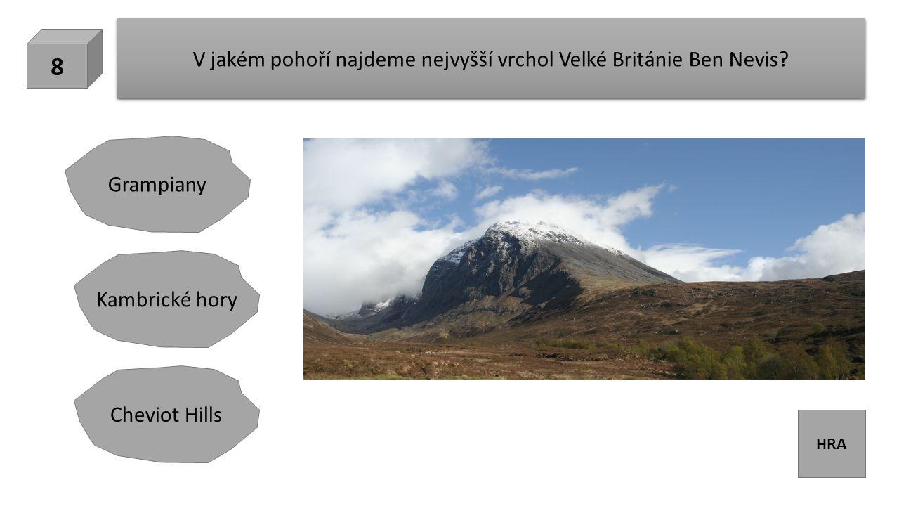 HRA V jakém pohoří najdeme nejvyšší vrchol Velké Británie Ben Nevis.