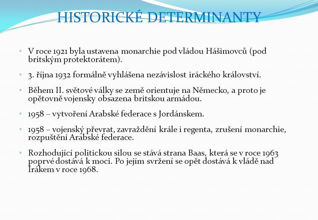 V roce 1921 byla ustavena monarchie pod vládou Hášimovců (pod britským protektorátem).