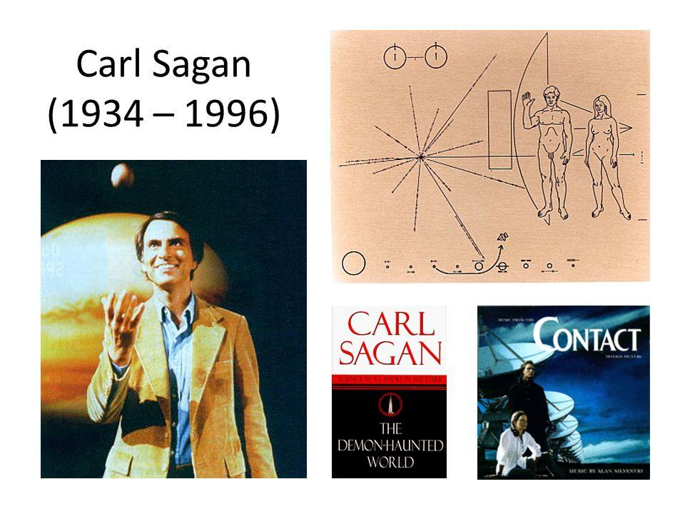 Carl Sagan (1934 – 1996)