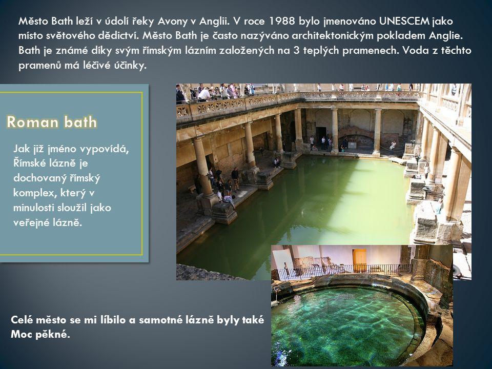 Jak již jméno vypovídá, Římské lázně je dochovaný římský komplex, který v minulosti sloužil jako veřejné lázně.
