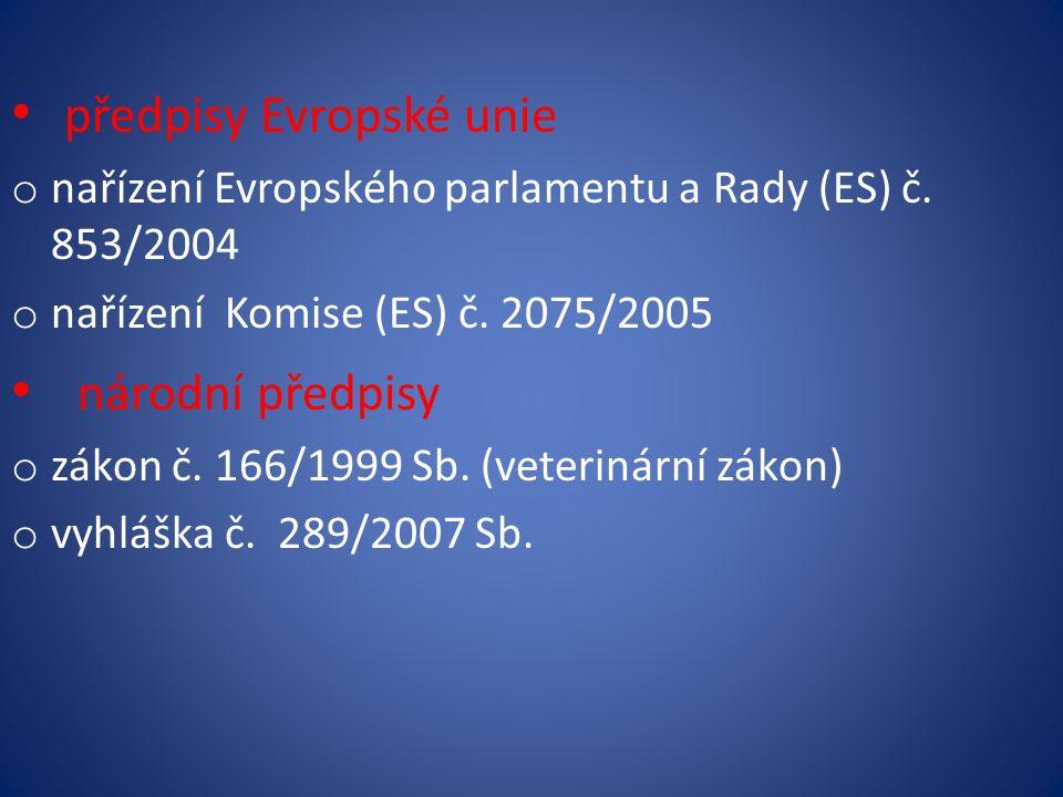 předpisy Evropské unie o nařízení Evropského parlamentu a Rady (ES) č.