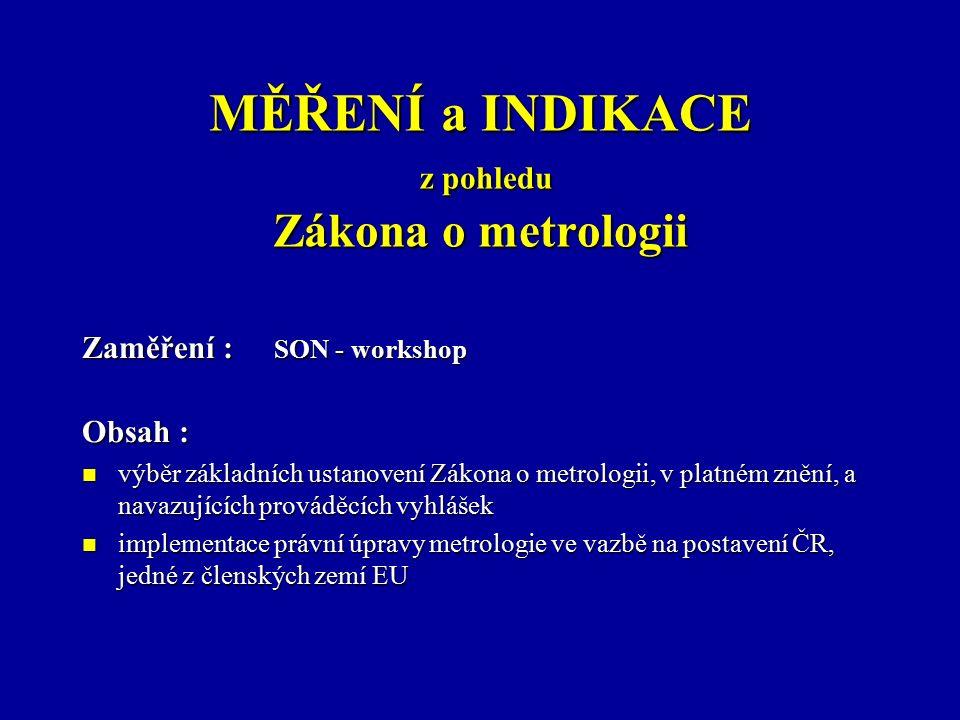 Zákon o metrologii (ve znění jeho novel) : Zákon č.