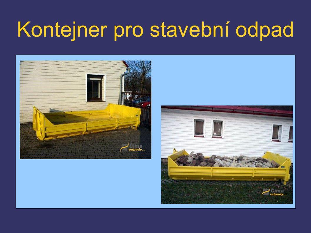 Kontejner pro stavební odpad