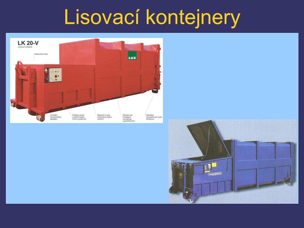 Lisovací kontejnery