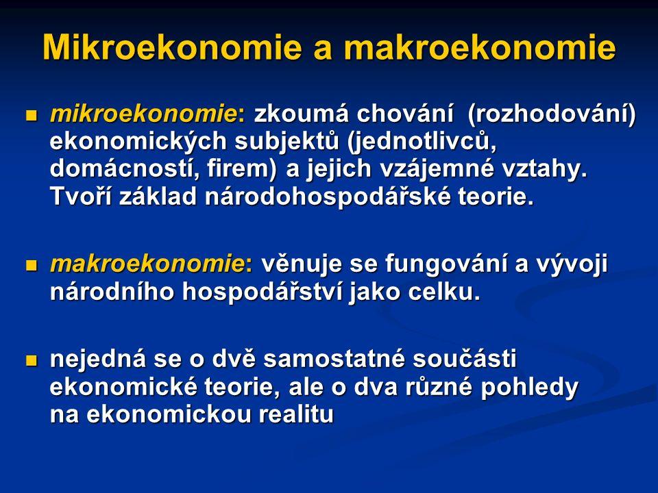 Z ekonomické historie: prvá hospodářskopolitická doporučení a jejich důsledky tzv.