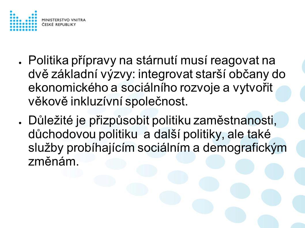 ● Na uvedená fakta reagovala vláda svým usnesením č.