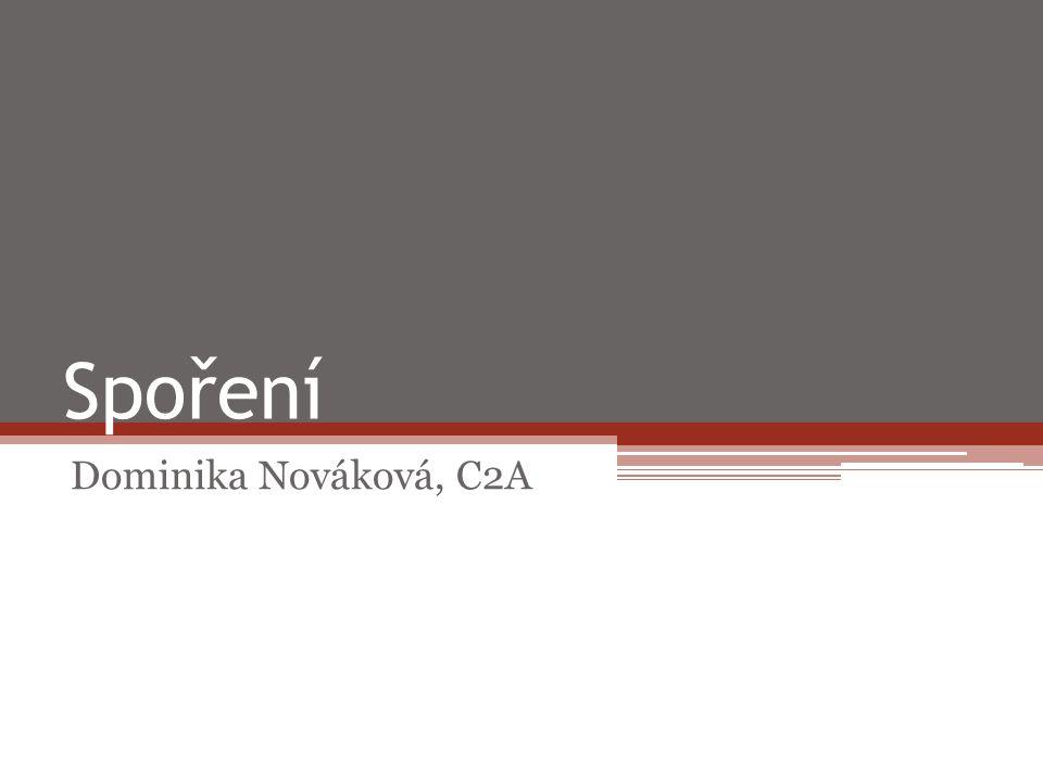 Spoření Dominika Nováková, C2A