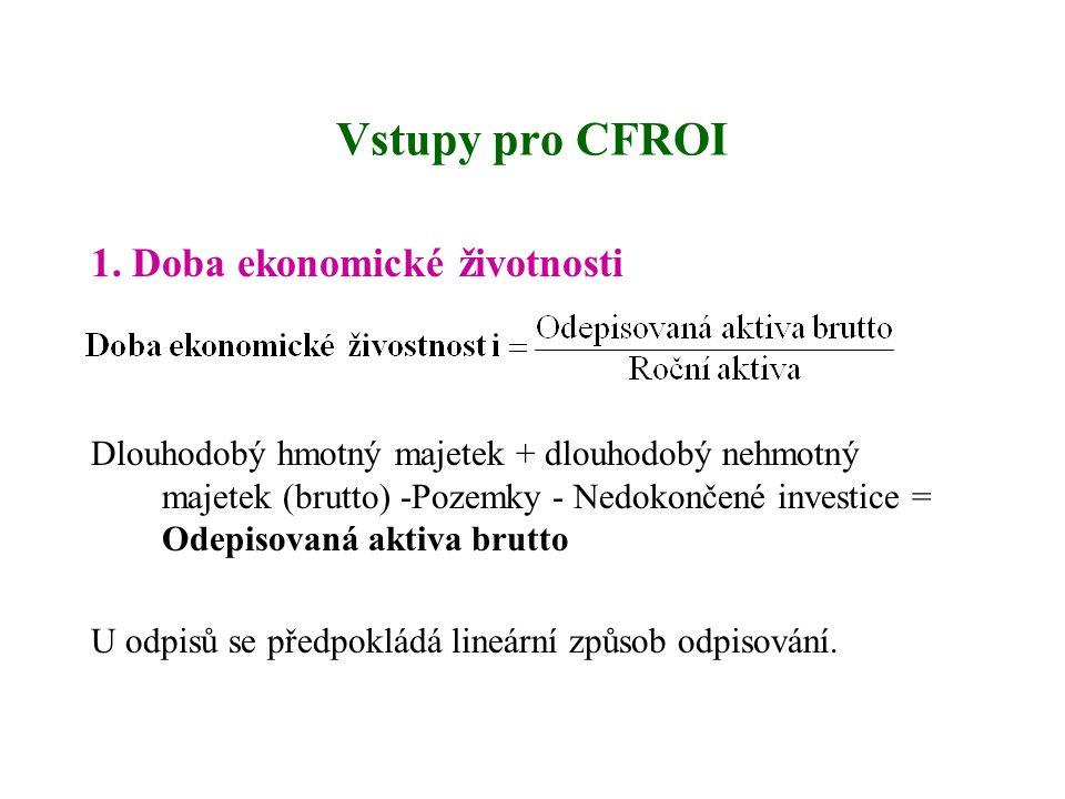 Vstupy pro CFROI 1.