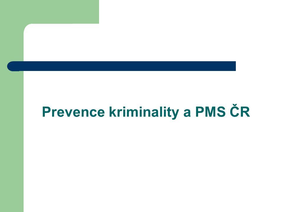 Prevence kriminality a PMS ČR