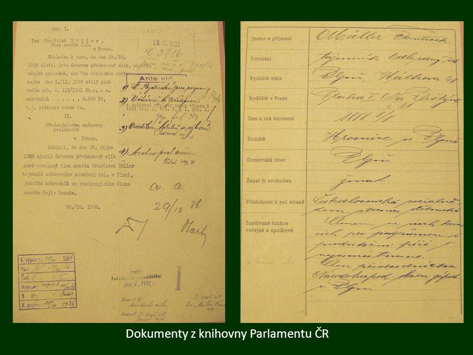 F.M. a rodina František se ženil velmi brzy, v roce 1909.