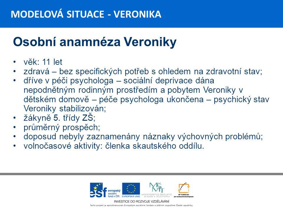 Rodinná anamnéza VIKI 6.