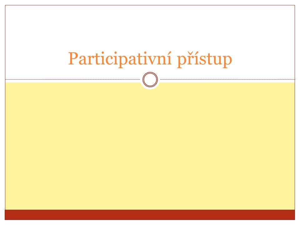 Participativní přístup