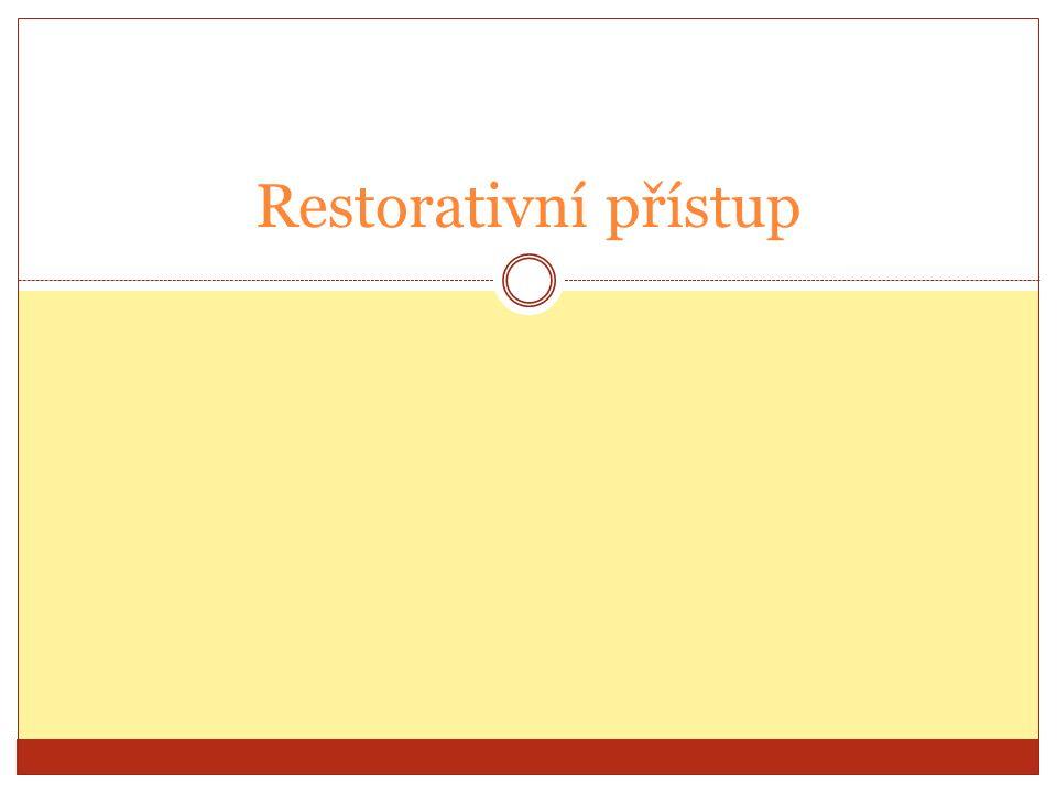 Restorativní přístup