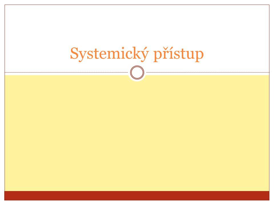 Systemický přístup