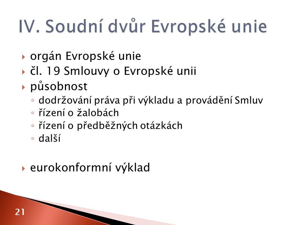  orgán Evropské unie  čl.