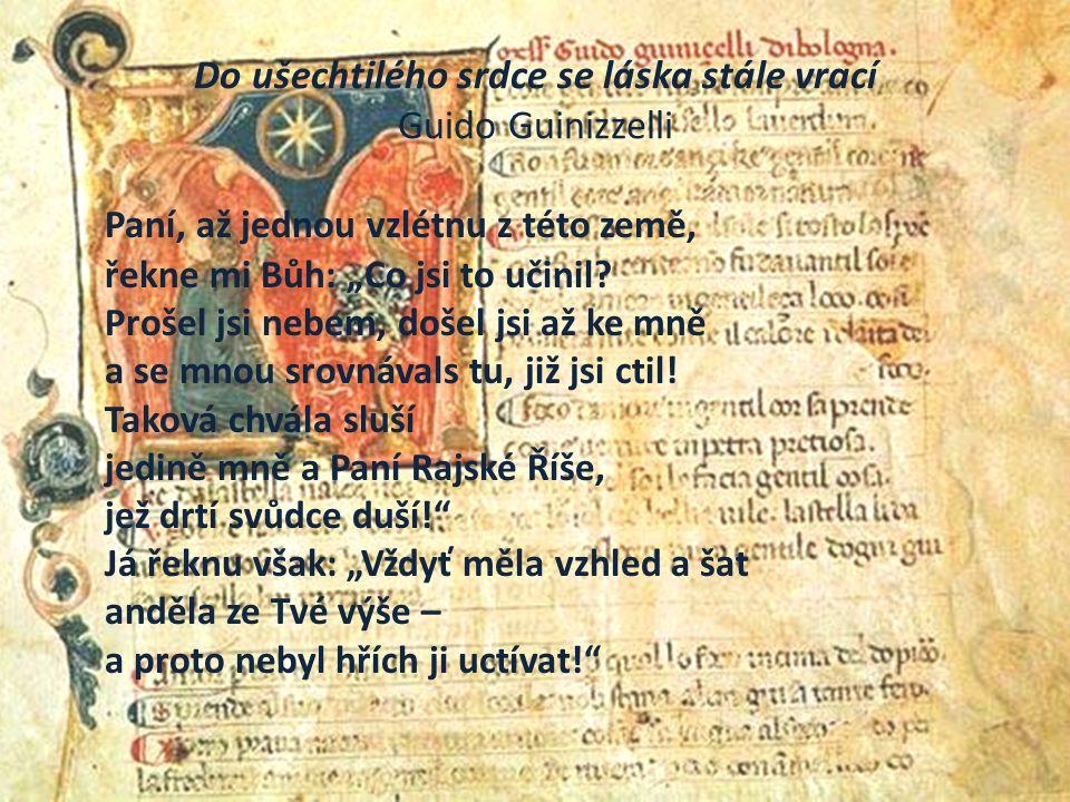 Boccaccio a Dekameron V díle Dekameron od Giovanniho Boccaccia nalezneme lásku v tom nejširším slova smyslu a v mnoha rozličných případech.