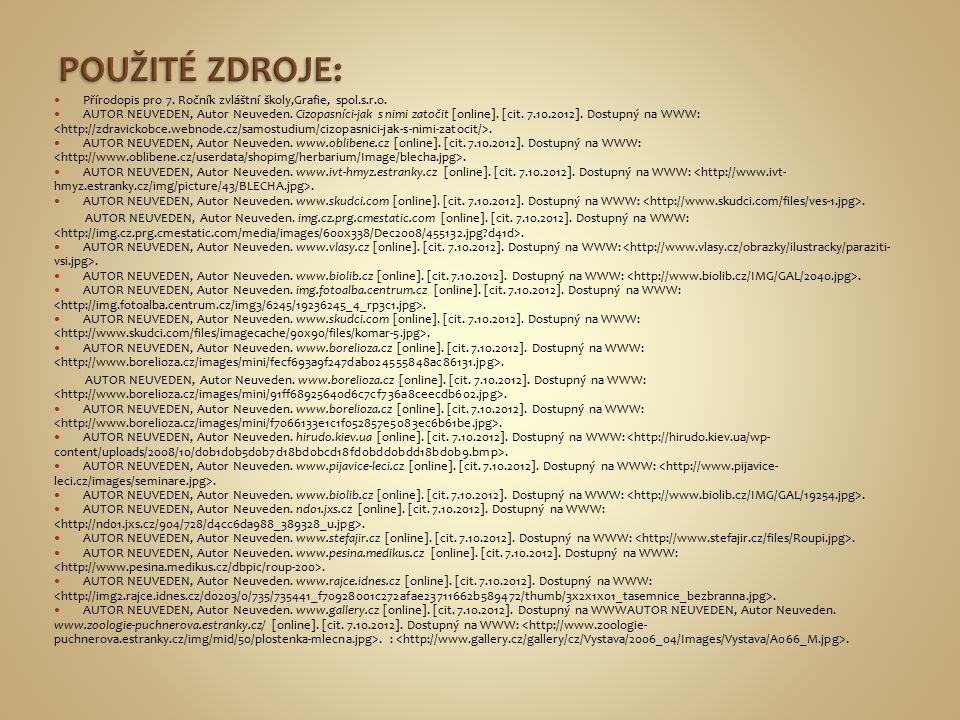 Přírodopis pro 7. Ročník zvláštní školy,Grafie, spol.s.r.o.