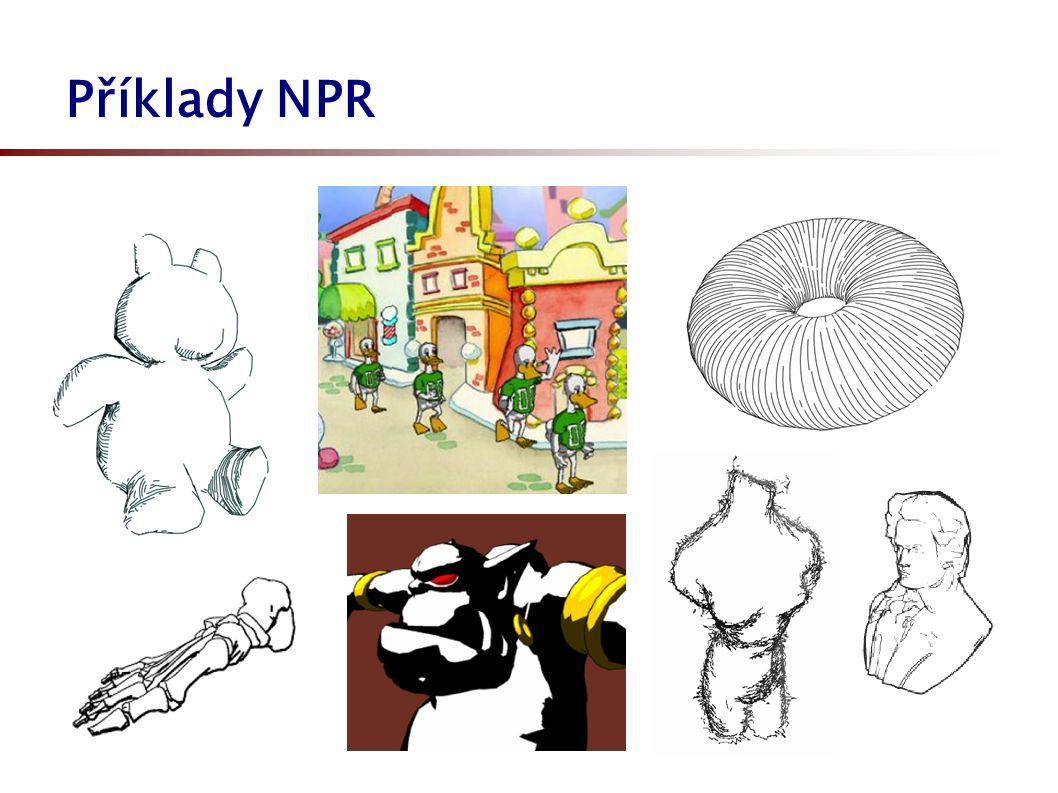 Příklady NPR