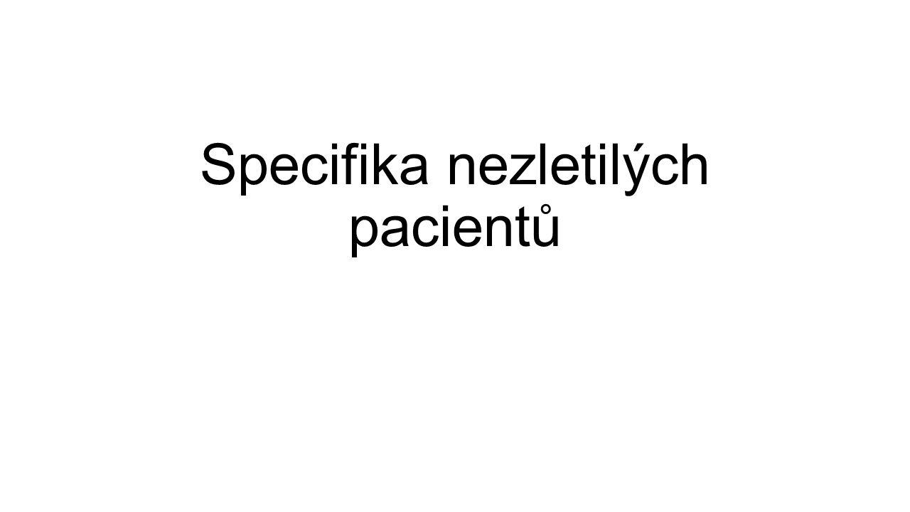 Specifika nezletilých pacientů
