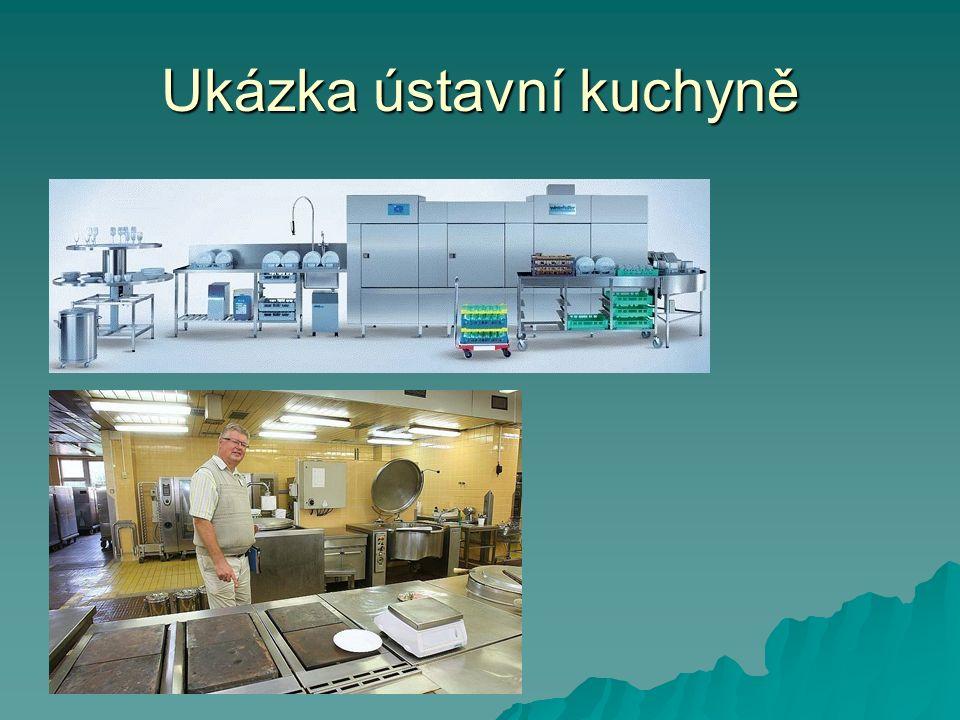 Ukázka ústavní kuchyně