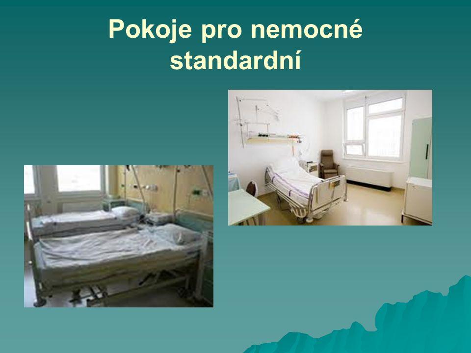 Pokoje pro nemocné standardní