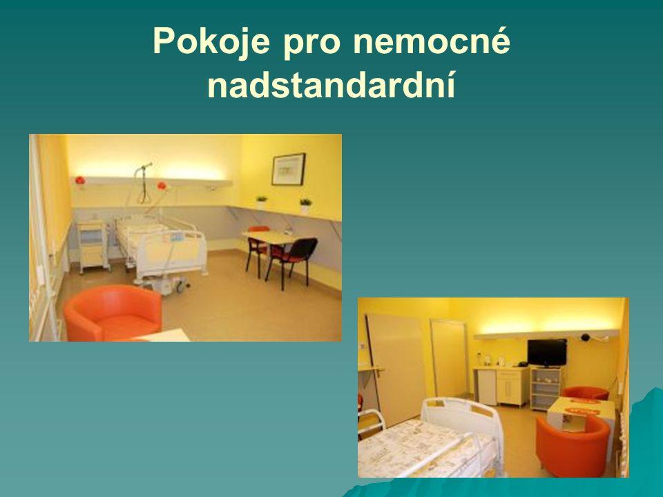 Pokoje pro nemocné nadstandardní