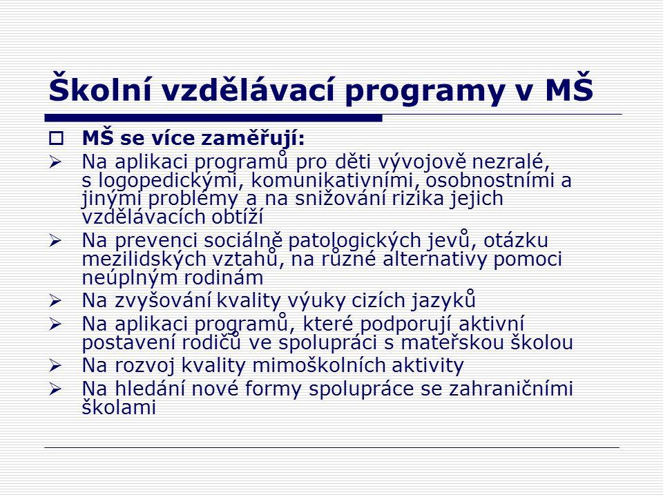 Kapacita v MŠ a ZŠ v městské části Praha 12  Populační exploze je pouze dočasná 3-4roky, kapacita v ZŠ je dostatečná v MŠ je potřeba kapacitu postupně zvyšovat  Od roku 2007 probíhá plánované otevírání tříd v MŠ