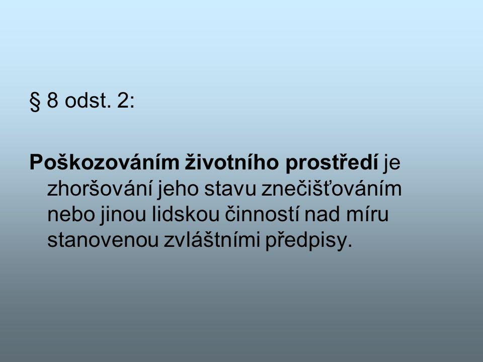 § 8 odst.