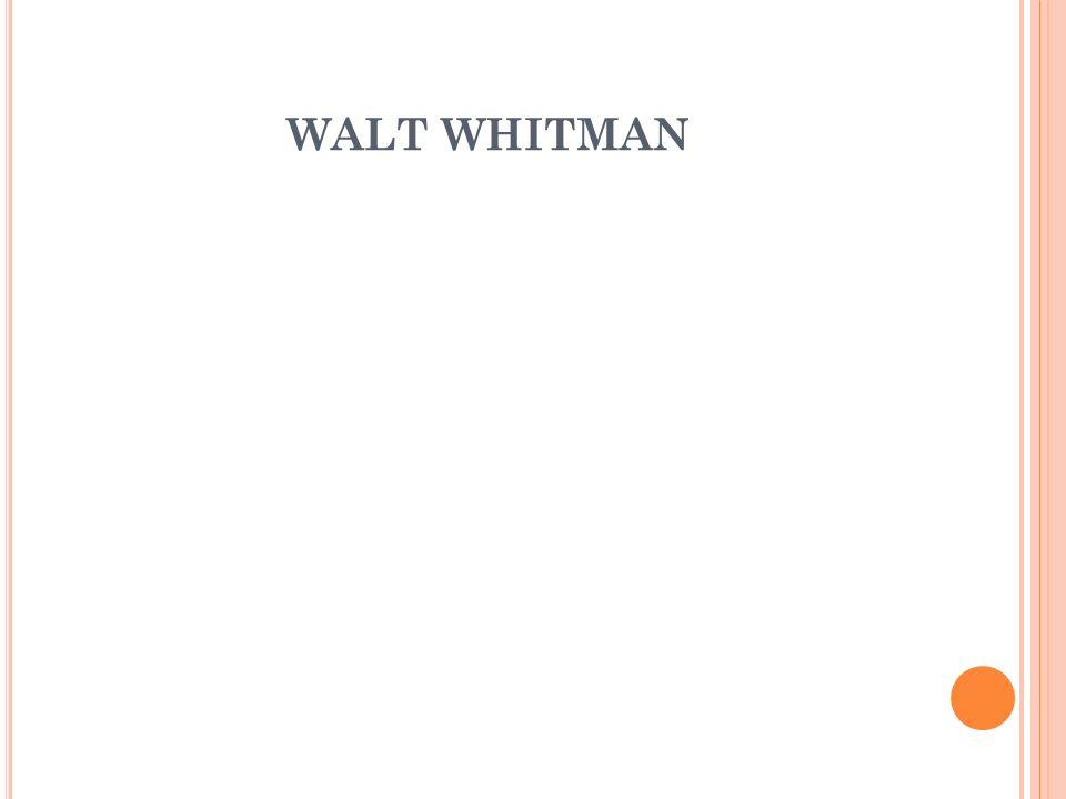 NÁZEV ŠKOLY : Gymnázium Lovosice, Sady pionýrů 600/6 ČÍSLO PROJEKTU : CZ.1.07/1.5.00/34.1073 NÁZEV MATERIÁLU : VY_32_INOVACE_2B_03_Walt Whitman TÉMA SADY : Literatura 19.