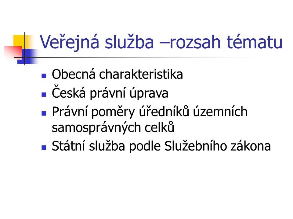 Historie veřejné služby v ČR 1/2 1.