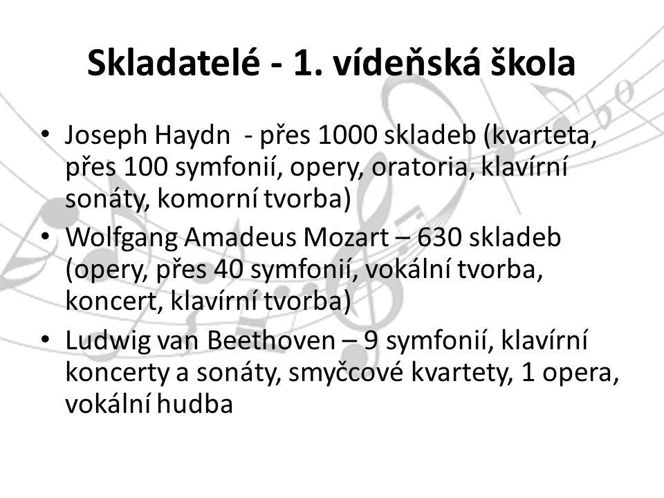 Skladatelé - 1.