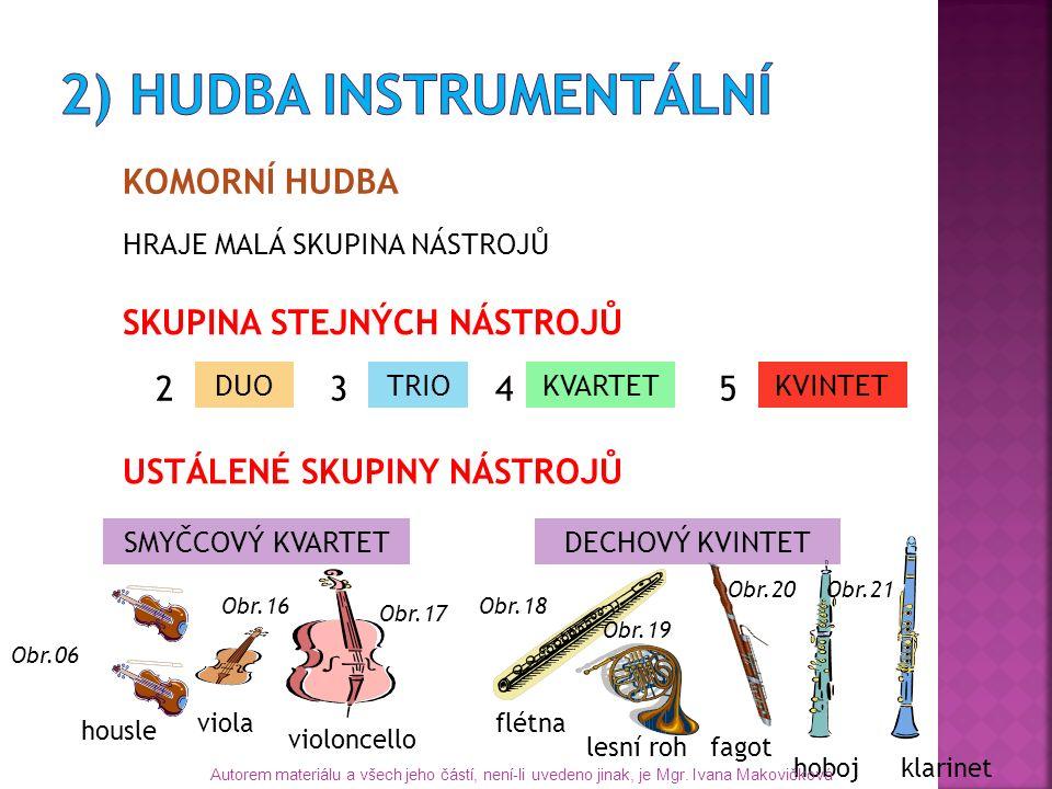 ORCHESTRÁLNÍ HUDBA Kdo řídí orchestr.