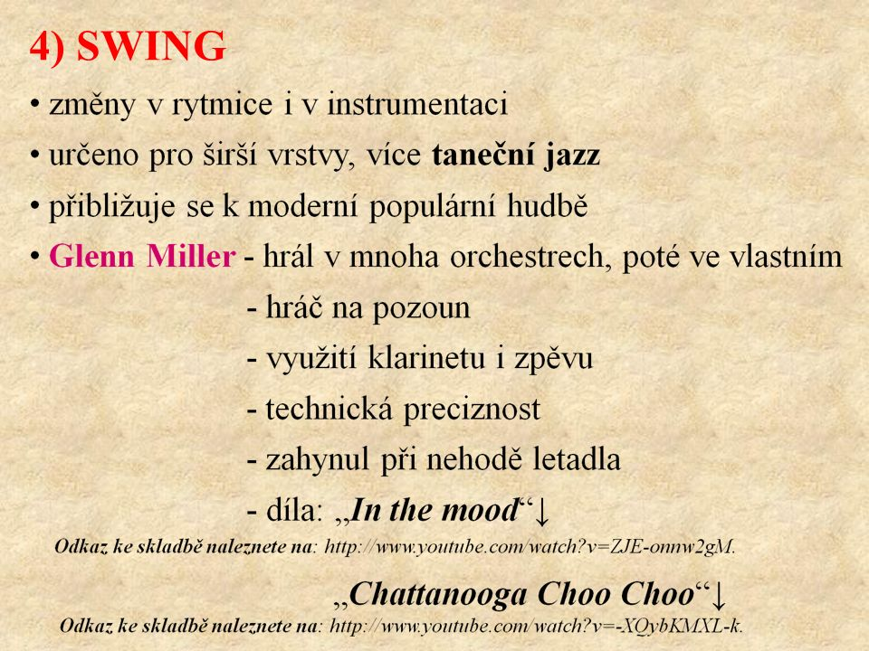 4) SWING