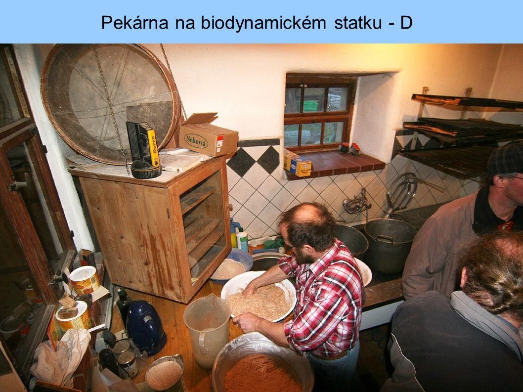 Pekárna na biodynamickém statku - D