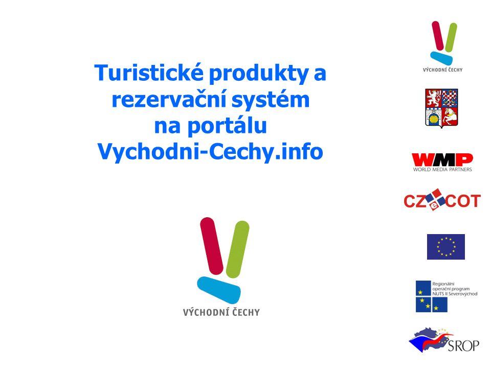 Turistické produkty a rezervační systém na portálu Vychodni-Cechy.info