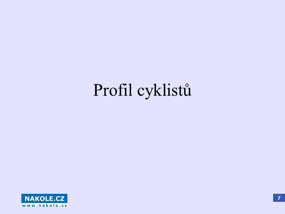 7 Profil cyklistů