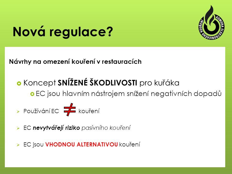 Nová regulace.