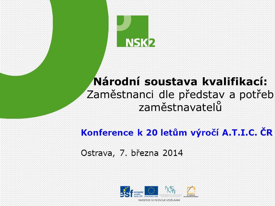 Potřebujete více informací o NSK a NSP.