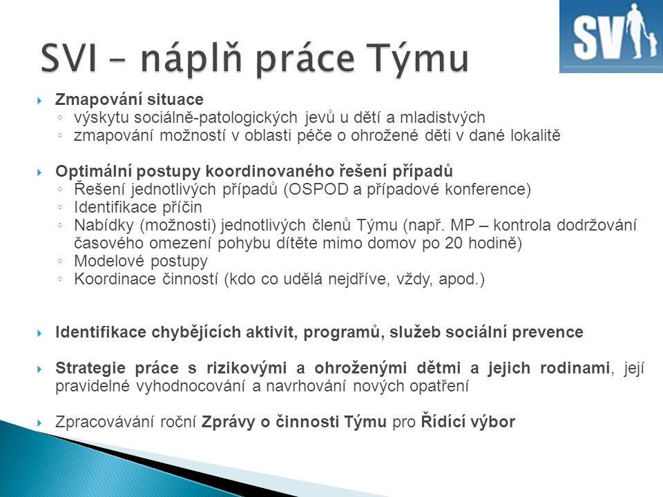 Legislativní opatření a nástroje - Dle příslušných zákonů - podle 359/1999 Sb.