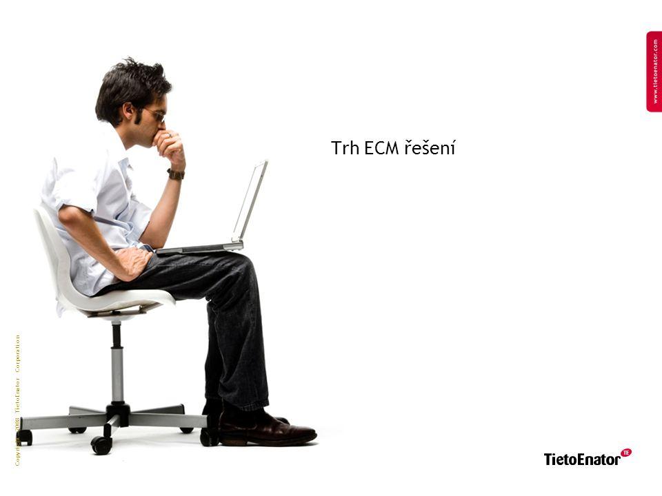 Copyright 2008 TietoEnator Corporation Trh ECM řešení