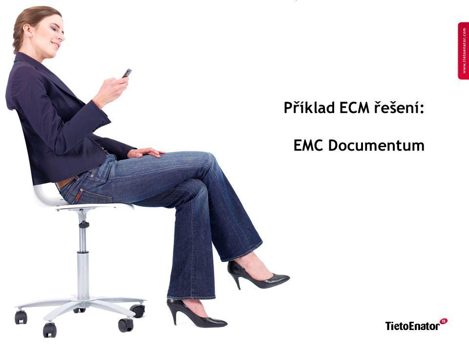 Copyright 2008 TietoEnator Corporation 34 Příklad ECM řešení: EMC Documentum